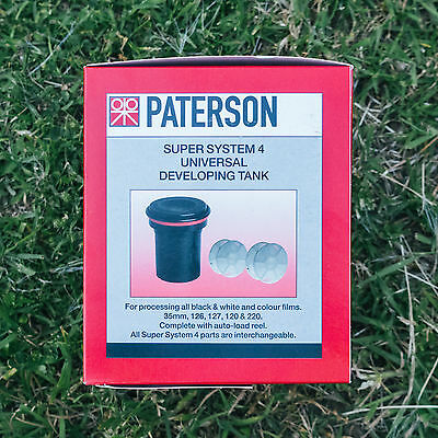 Paterson Super System Film Developing Tank + 2 Reels Develop at Home