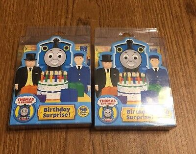 Set of 2 Thomas and Friends Birthday Surprise Card Game