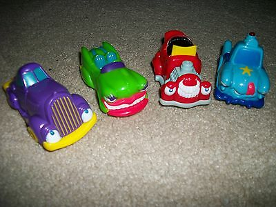 Toon Town Cars Wendy's Happy Meal Toys
