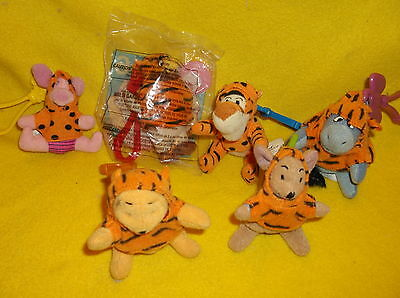 DISNEY'S THE TIGGER MOVIE KEYCHAINS McDonald Happy Meal Toys  OWL MIP!