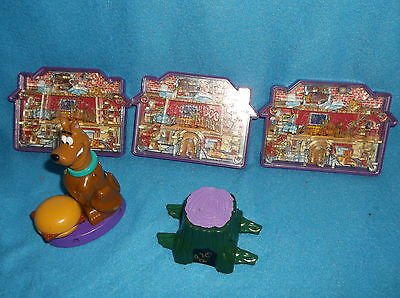 SCOOBY-DOO ON ZOMBIE ISLAND Burger King Kids Club Meal Toys