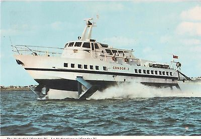 Hydrofoil Condor 3 - Operating Between The Channel Islands & St. Malo