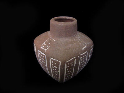 Fascinating Bronze Age Style Compact Terracotta Pot!!!