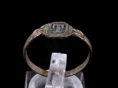 ATTRACTIVE WEDDING ANTIQUE BRONZE RING  FROM 19th–20th CENTURY!!!