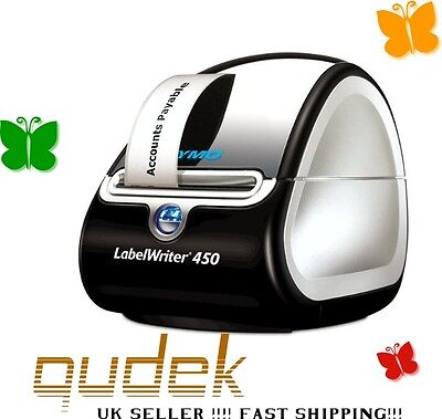 Dymo LabelWriter 450 Thermal Label Printer for PC & Mac, 3 Rolls of Labels NEW!