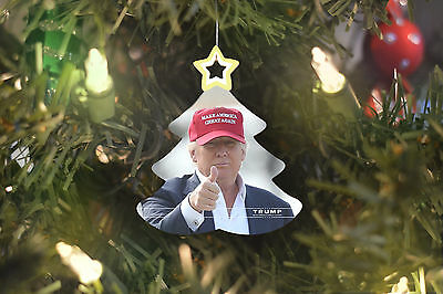 Donald Trump Christmas Tree Ornament