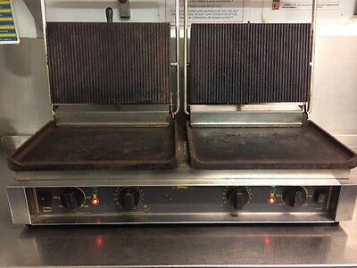 Commercial panini/Grill machine - Roller Grill