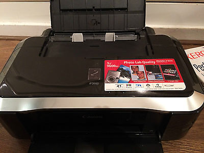 Canon PIXMA iP3600 Digital Photo Inkjet Printer