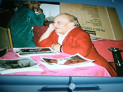 BILLY BARTY  in person color snap shot