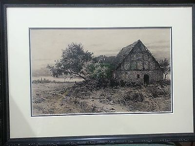 ORIGINAL  Pen and Ink Drawing by Georg Fritz  Stunning, signed masterpiece