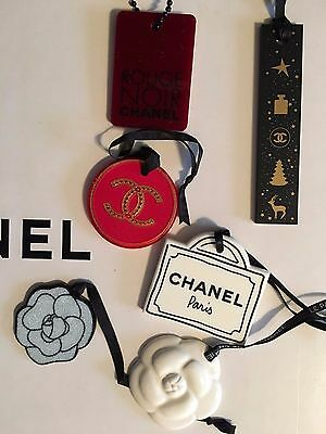 Chanel plastic charm set of 6 limited edition VIP gift NEW