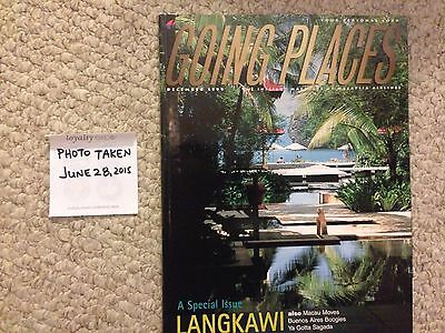 Malayasia Airlines In-flight magazine December 1999 Extremely Rare