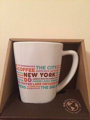 Dunkin' Donuts New York destination mug/cup . Limited edition