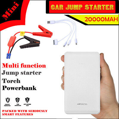Car Booster Charger Jump Starter Portable 20000mAh Emergency  Power Bank Minimax