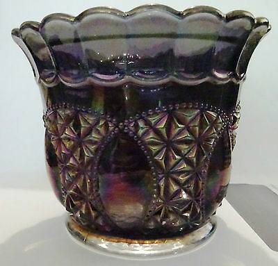 Carnival Glass Imperial Glass Lolly Jar