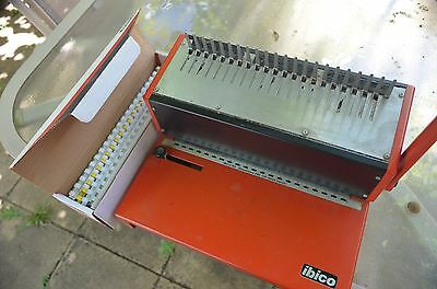 Ibico Paper Binder And Comb Punch