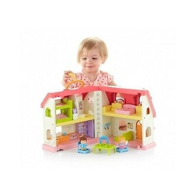 Educational Toys For 1 2 3 4 5 Year Old Toddler Dollhouse Interactive House Gift