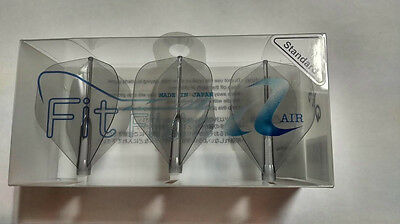 Cosmo Fit Flights Air 3 Pack Clear Black Standard Shape