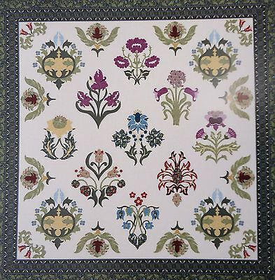 WILLIAM MORRIS SAMPLER TWO - applique quilt PATTERN - Michele Hill