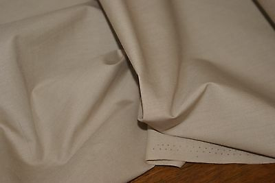 3m x 1.12m wide BEIGE Poly Cotton Voile Fabric