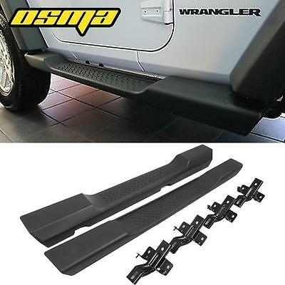 07-16 Jeep Wrangler JK 2DR OE Style Factory Side Step Running Boards Nerf Bars