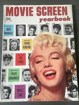 MARILYN MONROE 1957 Movie Screen Magazine