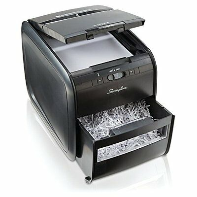 Swingline Auto Feed Paper Shredder, 60 Sheets, Cross-Cut, 1 User, New