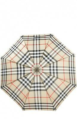 Burberry Check Folding Umbrella - Camel