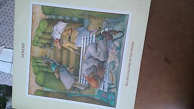 vinyl record,  Genesis. Selling England by the pound.