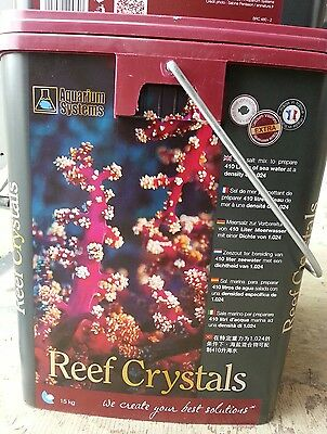 Aquarium Systems Reef Crystal 15kgs sel de mer
