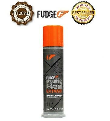 Official Fudge Matte Hed EXTRA Strong Hold Texture Wax 85g