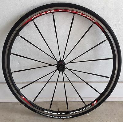 Fulcrum Racing 1 front wheel incl Michelin ProRace 4 tyres