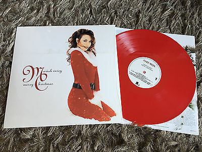 Mariah Carey - Merry Christmas - New RED COLOURED Vinyl LP All I Want For Is You