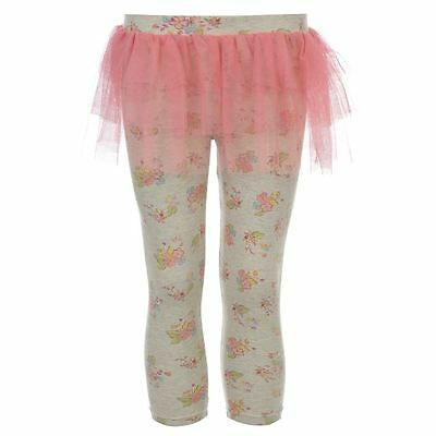 Disney fairies girls grey with pink frill bottoms 3-4 years BNWOT