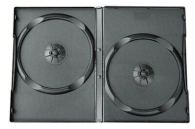 Pack de 16 ESTUCHES / CAJAS ESTANDAR DOBLES - 2 DVD - 14mm - CD BLURAY