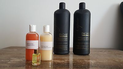 Inoar Moroccan Brazilian Keratin Treatment Blow Dry Hair Straigh Plus Argan Oil