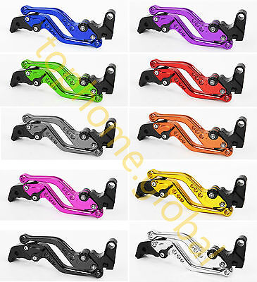 Clutch Brake Levers Fit Yamaha FZS600 FAZER 1998-2003 CNC Short/Long 10 Colors