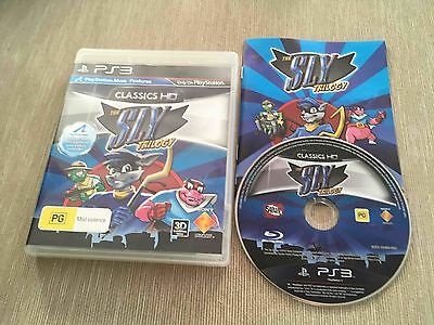 The Sly Trilogy (Sony PlayStation 3, 2010) AUS PAL Complete