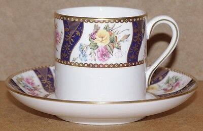 ### Elegant Spode Cabinet Collection Coffee Can And Saucer - Kingswood ###