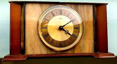 Metamec 8 day Mantle Clock made in France