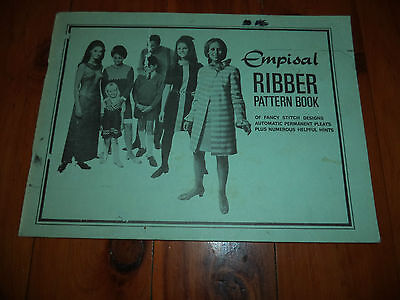 Empisal Ribber Pattern Book - Fancy Stitches, Permanent Pleats & Other Hints
