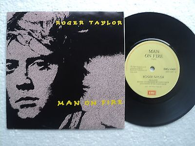 Roger Taylor / Queen - Man on Fire / Killing time - Rare South Africa 45 P/S