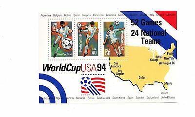 USA - 1994 World Cup mint MS