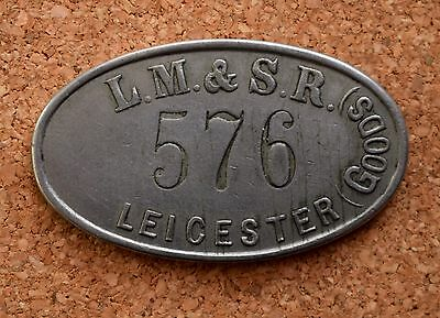 Railway pay check LMSR Leicester (goods)