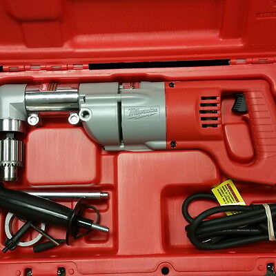 """Milwaukee 3107-6 1/2"""" D-Handle Right Angle Drill Kit"""