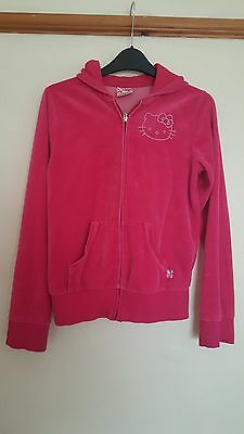 Pink Hello Kitty London Hoodie 13/14 yrs