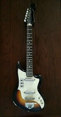 Vintage Zenon Electric Guitar Made in Japan 1960s