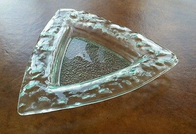 Modern Glass Dish  / Ashtray