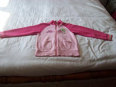 "Girls Track Suit Top - Pink ""Nike Inc."" (7-8 Years)"