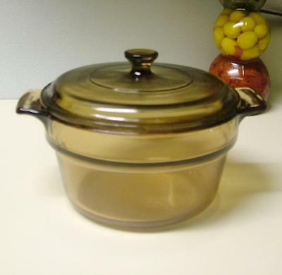 Visions Corning Double Boiler Insert with Lid